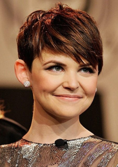 Ginnifer Goodwin, round face hairstyles, round face celebrities, hairstyles