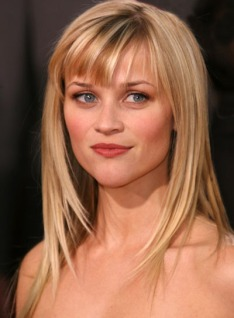 reese witherspoon, round face hairstyles, round face celebrities, hairstyles