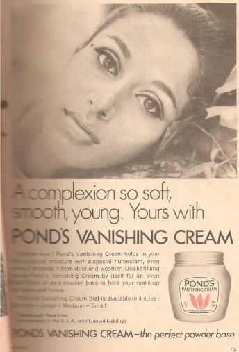 POND'S VANISHING CREAM
